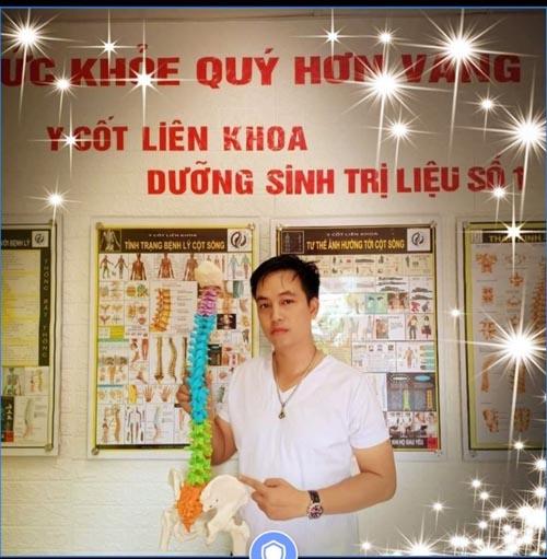 nắn chỉnh cột sống lương y Nguyễn Chính